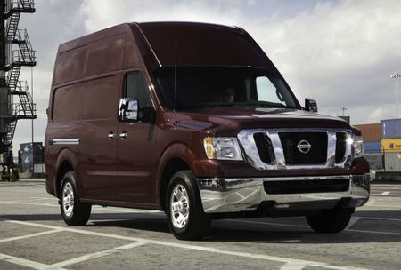 Nissan's NV Van Points Way to Future Heavy-Duty Titan and Compact Van