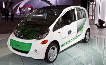 Electric 2012 Mitsubishi i-MiEV Priced: $21,340 After Federal Tax Credit