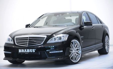 Brabus Takes Downsized Mercedes-Benz V-8s and Upsizes Their Power