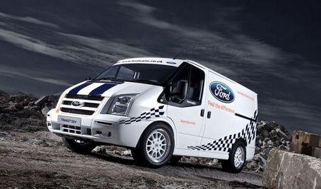 Ford U.K. Builds Transit SuperSportVan, Makes Us Want the Big Transit More