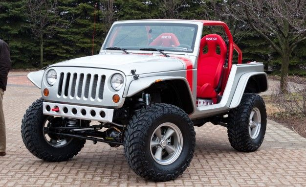 Jeep Bringing Six Hopped-Up, Mopar-Built Vehicles to Annual Moab Easter Jeep Safari
