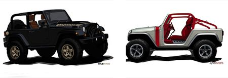 Jeep Wrangler Renegade and Porkchop Concepts to Debut at Moab Jamboree