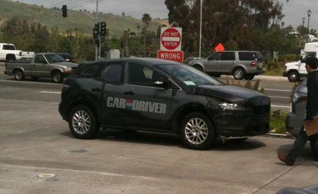 Mazda CX-5 Mule Spied in SoCal