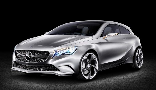 Mercedes: FWD Baby CLS in 18 Months, Three Models Based on A-class to Follow a Year Apart