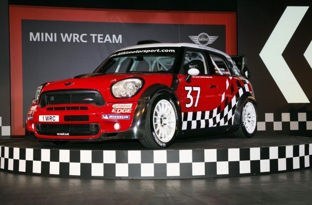 Mini Officially Launches its WRC Team