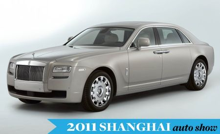 Extended-Wheelbase Rolls-Royce Ghost Debuts at Shanghai Auto Show