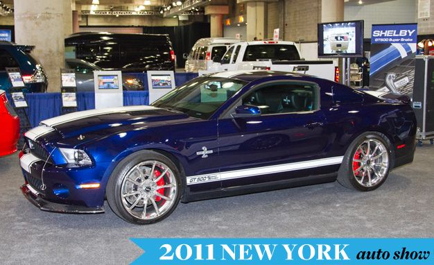 Shelby GT500 Super Snake and Its 800 hp to Debut at New York Auto Show