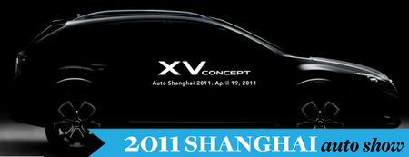 Subaru's XV Concept at Shanghai Auto Show Previews American Impreza Outback Sport