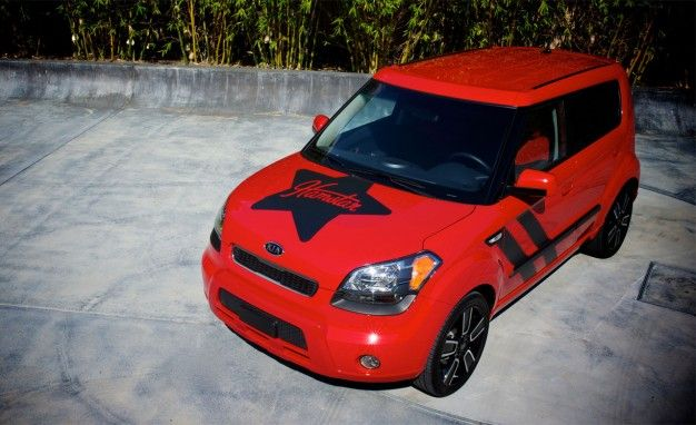 Kia Soul Hamstar Edition Includes Questionable Graphics, the Kitchen Sink