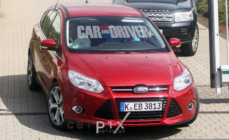 We Catch the 247-hp 2012 Ford Focus ST at the Nürburgring
