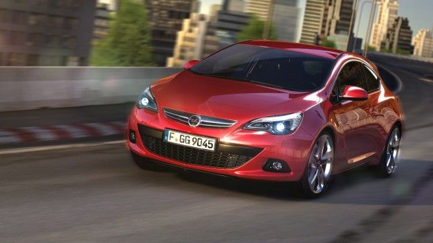 Opel's Handsome New Astra GTC Revealed, Taunts Us from Abroad [Updated]