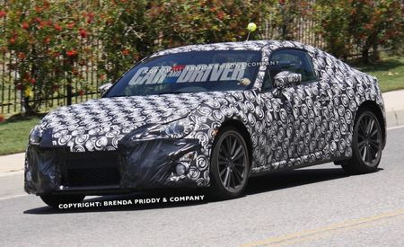 New Subaru Sports Coupe Spy Photos Show Interior, Nose