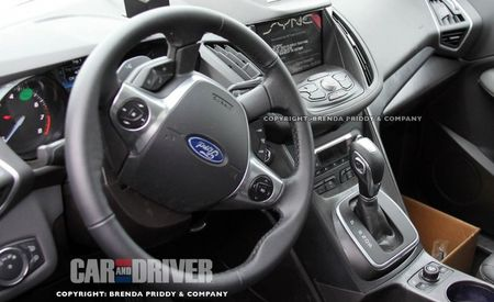 Spies Get Clear Look Inside the 2013 Ford Escape