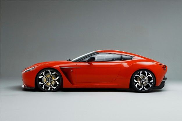 Aston Martin V12 Zagato Race Car Concept No Longer Sketchy, Official Photos and Info Released