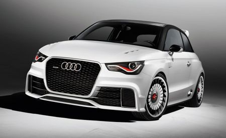 Audi Crams 503 hp into A1 ClubSport Quattro, Sends it to Austria