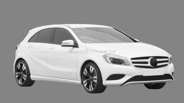 Next-Gen Mercedes-Benz A-class Images Are Real