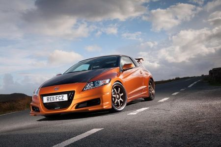 Honda Releases Video of Supercharged Mugen CR-Z Tearing Up Twisties