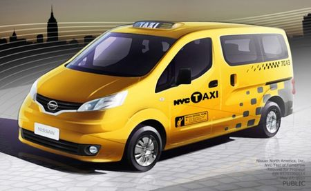 New York City Picks Nissan NV200 Small Van as Future Yellow Cab