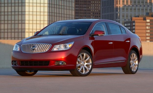 Buick LaCrosse's Optional V-6 Gets More Muscular for 2012, Now Up to 303 HP