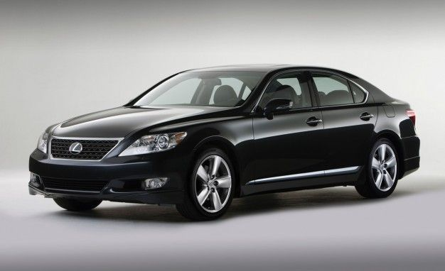 2011 Lexus LS460 Touring Edition: Sportier Appearance Sans Actual Sportiness