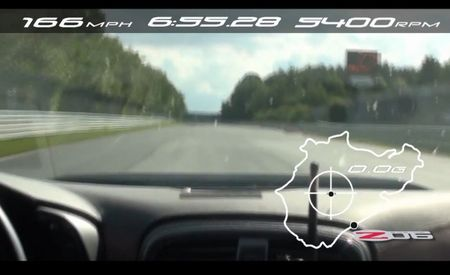 The Glove Fits: 2012 Corvette Z06 Absolutely Murders Its Previous Best Nürburgring Lap Time