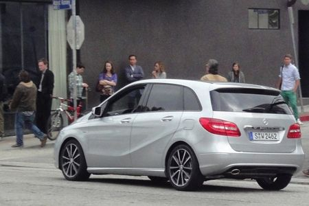 Check Out This Leaked Photo of the 2013 Mercedes-Benz B-Class!