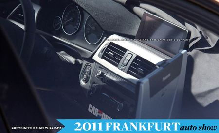 2013 BMW 3-Series Spied Again, But This Time We Get to See the Interior