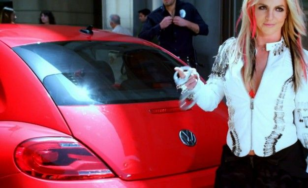 Eminem Who? VW's New Beetle Gets Heavy Screen Time in Britney Spears's Latest Video