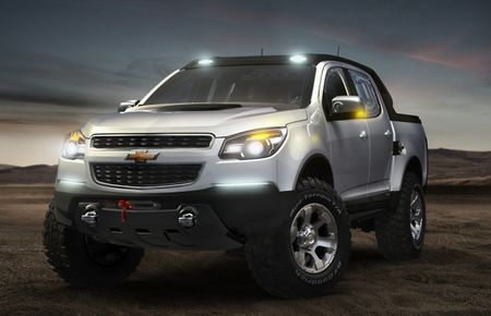 """What about the U.S.? Chevrolet Shows Second, """"Rally"""" Colorado Pickup Concept in Argentina"""