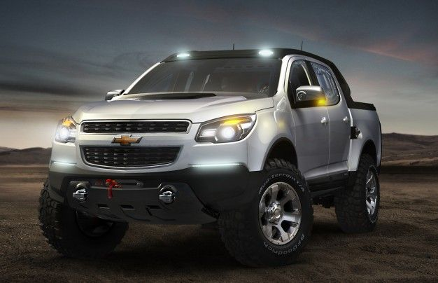 "What about the U.S.? Chevrolet Shows Second, ""Rally"" Colorado Pickup Concept in Argentina"