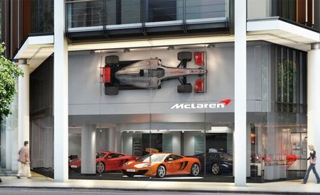 McLaren Kicks Off Global Dealership Network Buildup With New London Showroom