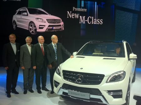 AMG Version of New Mercedes-Benz ML Confirmed, and More Benz SUV News
