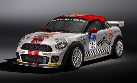 Mini Sending JCW Coupe Endurance to Tackle 24-Hour Race at Nürburgring
