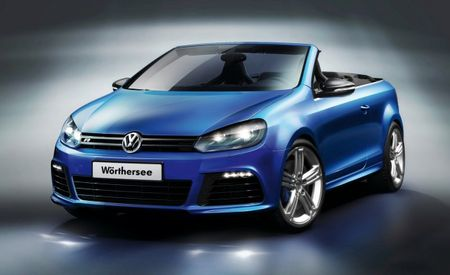 Volkswagen Golf R Cabriolet Concept Drops at Wörthersee Festival