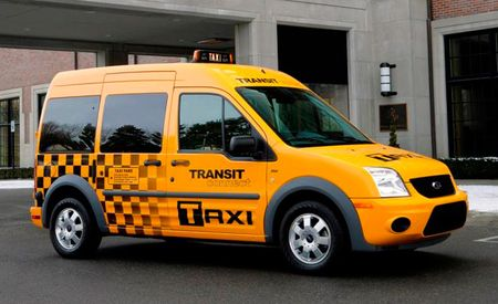 Ford Transit Connect Approved for Taxi Use in NYC
