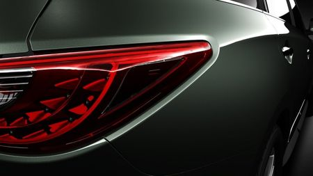 Infiniti Gives Us a Second Glimpse of the 2013 JX Seven-Seat Crossover