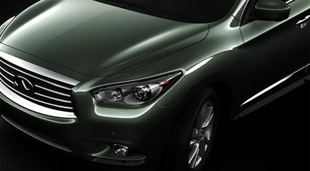 2013 Infiniti JX Crossover's Front End Revealed in Fourth Teaser Image
