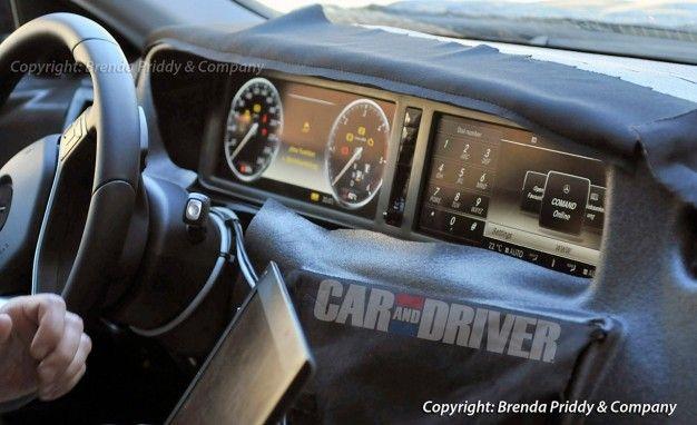 2014 Mercedes-Benz S-class Interior Spied