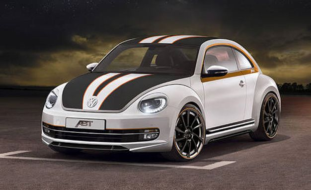ABT Sportsline Dials Up Anthropomorphic Menace for New VW Beetle