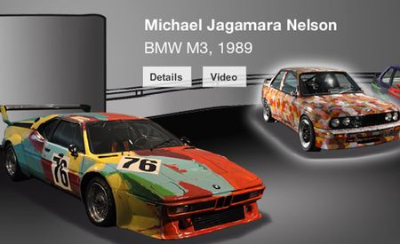 Theatre is the Life of You: BMW Art Car Collection Now Viewable Via Online Museum