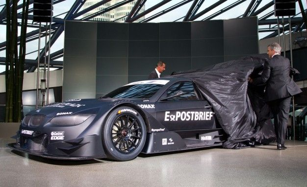 BMW Shows Off M3 DTM Concept Racer in Munich