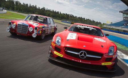 Retro-Liveried SLS AMG GT3 Honors Legendary Red Sow, Will Compete at 24 Hours of Spa