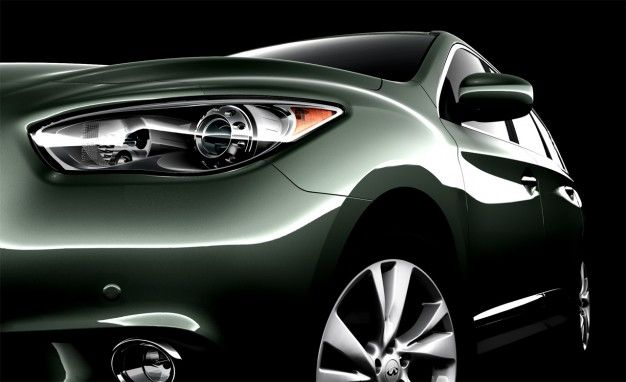 Infiniti Gives First Glimpse at 2013 JX Three-Row Crossover