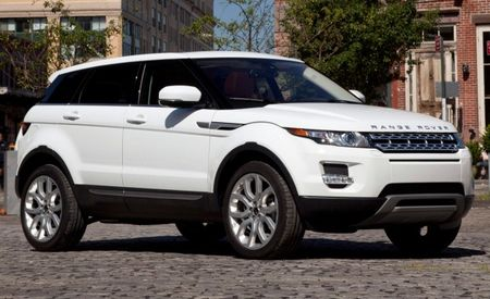 2012 Range Rover Evoque U.S. Pricing and MPG Ratings Released, Configurator Launched