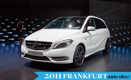 Mercedes-Benz Previews the New B-Class in Advance of Its Frankfurt Debut