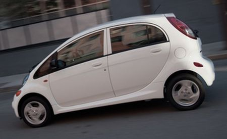 2012 Mitsubishi i-MiEV EPA Ratings Announced