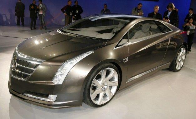 Cadillac Confirms Production Converj Plug-In Hybrid, Renames It ELR
