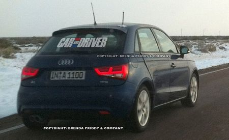 Five-Door Audi A1 Sportback Spied, More A1s Planned