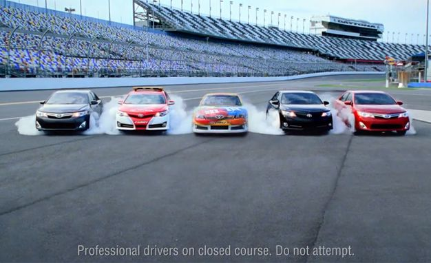 2012 Toyota Camry Commercial Shows All Camry Models Doing Burnouts—Even the Hybrid [VIDEO]