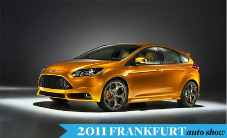 Ford Revealing Four Global Products at 2011 Frankfurt Auto Show, Including Performance Focus and Design Concept